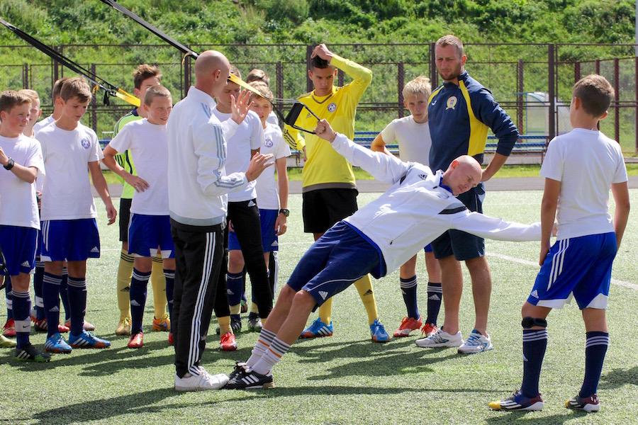 Футбольная школа Николая Мурашко