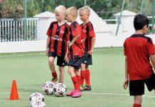 Летний лагерь AC Milan в Минске