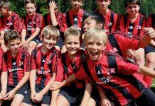 Детский футбольный лагерь Милан
