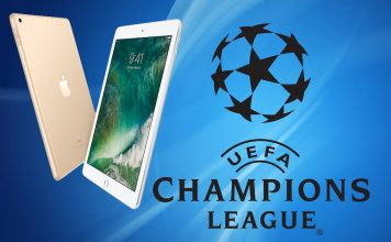 iPad Лига Чемпионов