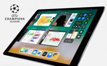 Лига Чемпионов iPad