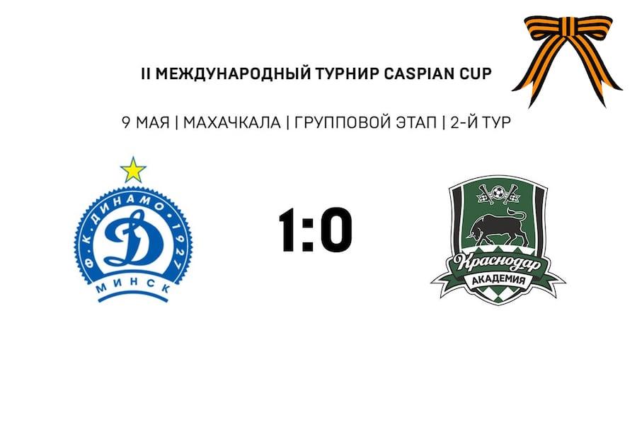Динамо Минск - Краснодар