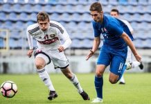 Словакия - Беларусь U-18
