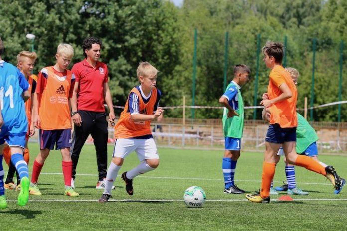 Отбор в академию футбола