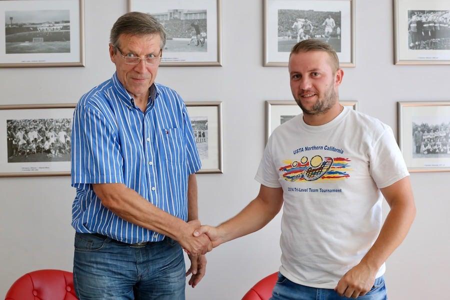 Михаил Вергеенко и Дмитрий Тышковский