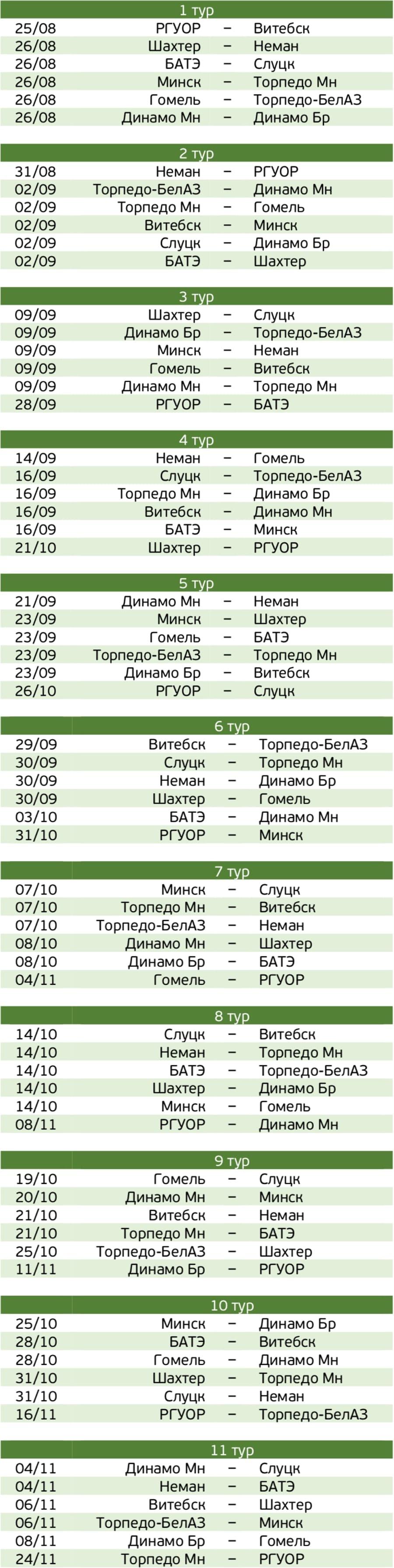 Календарь 2001 г.р.