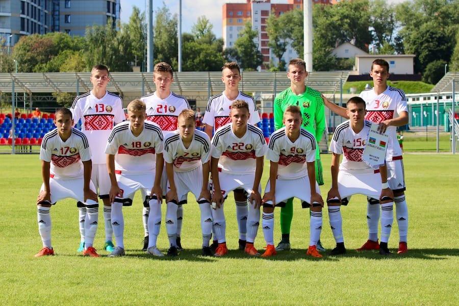 Сборная Беларуси U-17 футбол