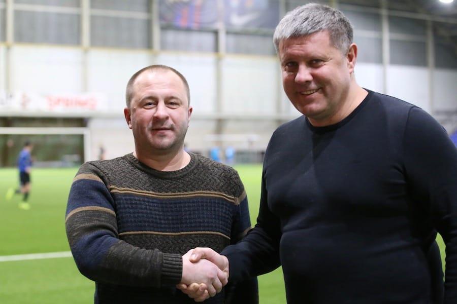 Сергей Ковалев и Дайнюс Гудайтис