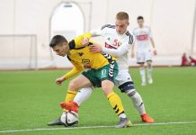 Беларусь - Литва U-19