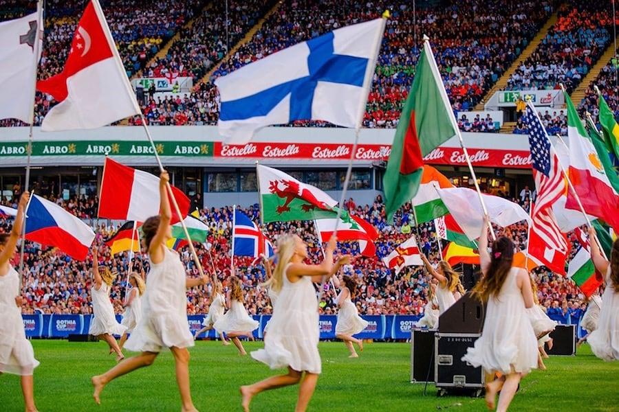 Церемония открытия турнира Gothia Cup 2019