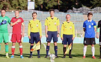 Беларусь - Эстония U-19