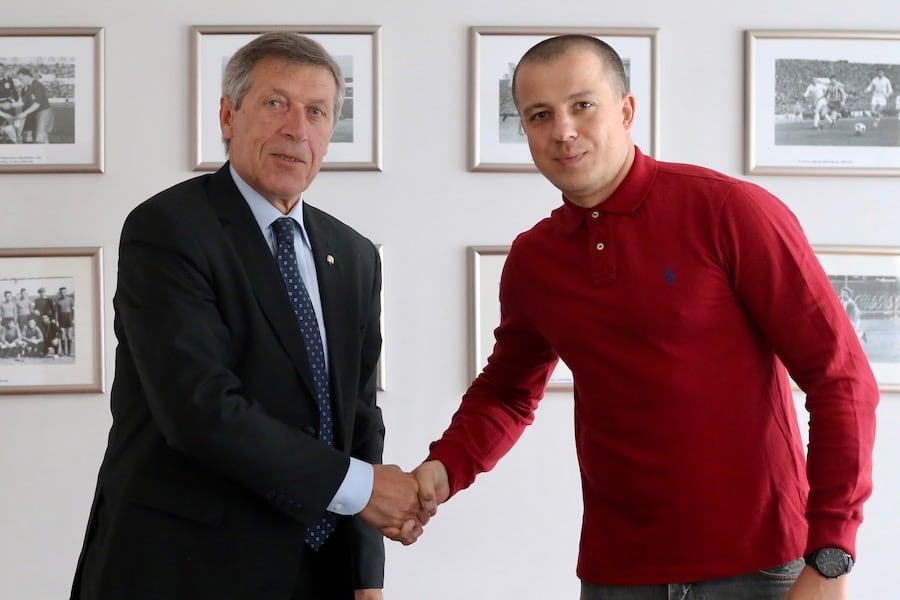 Михаил Вергеенко и Геннадий Собань