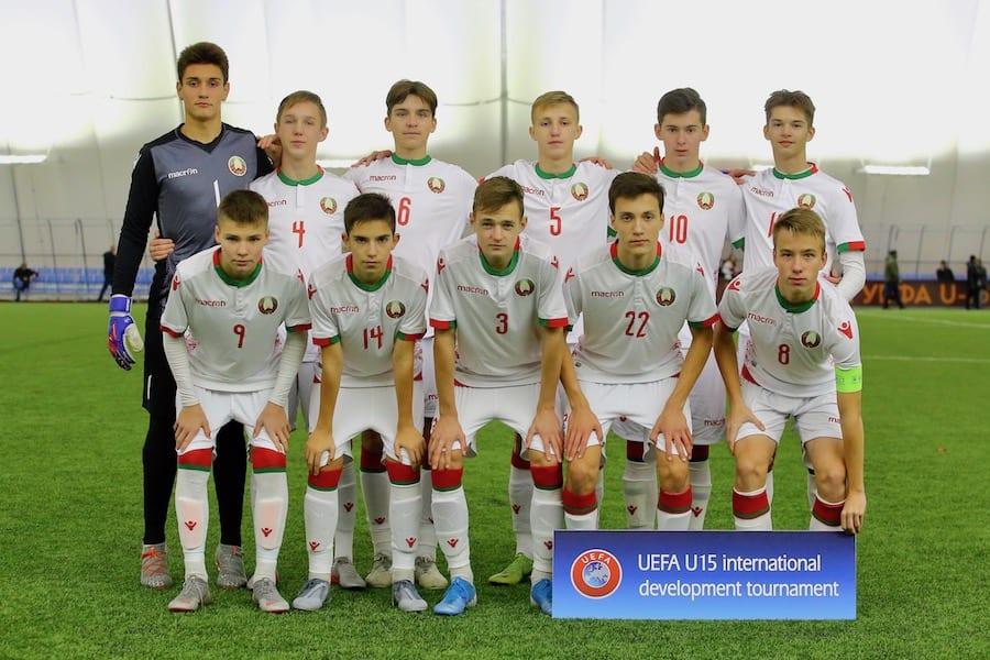 Сборная Беларуси U-15