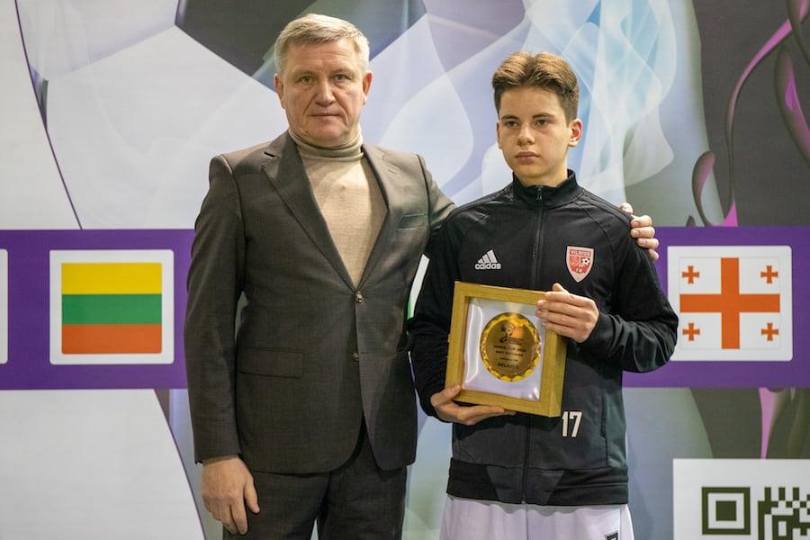 Патрикаш Жвенис (Вильнюс) - лучший защитник