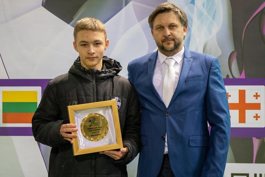 Алексей Иванов (Минск-2) - лучший нападающий