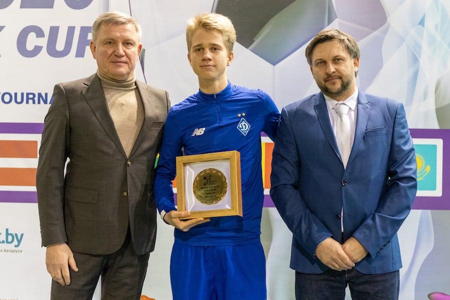 Егор Сизанюк (Динамо Киев) - лучший игрок