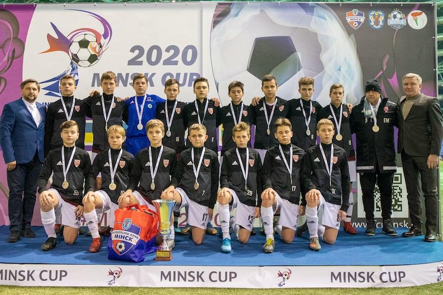 """""""Вильнюс"""" - серебряный призер Minsk Cup-2020 U-15"""