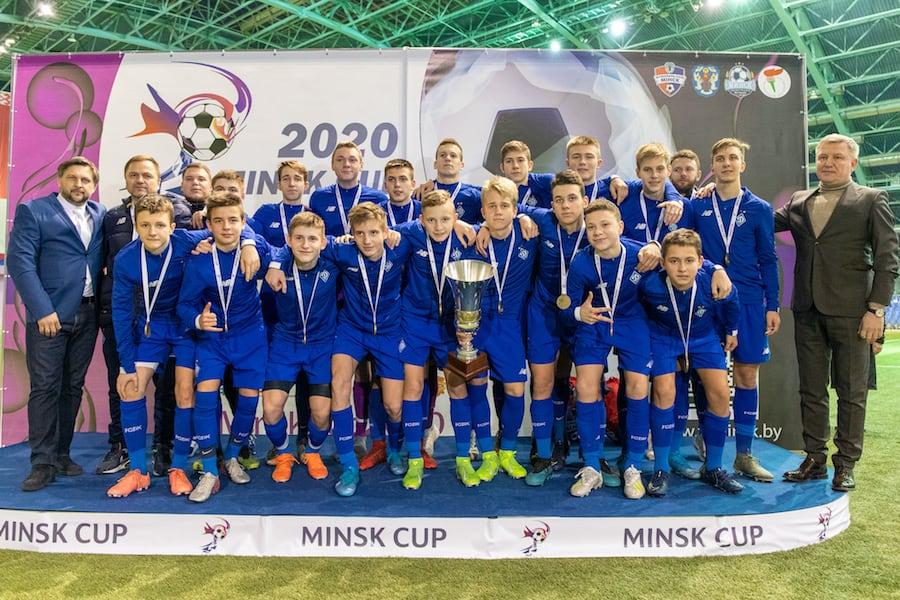 """""""Динамо Киев"""" - победитель Minsk Cup-2020 U-15"""